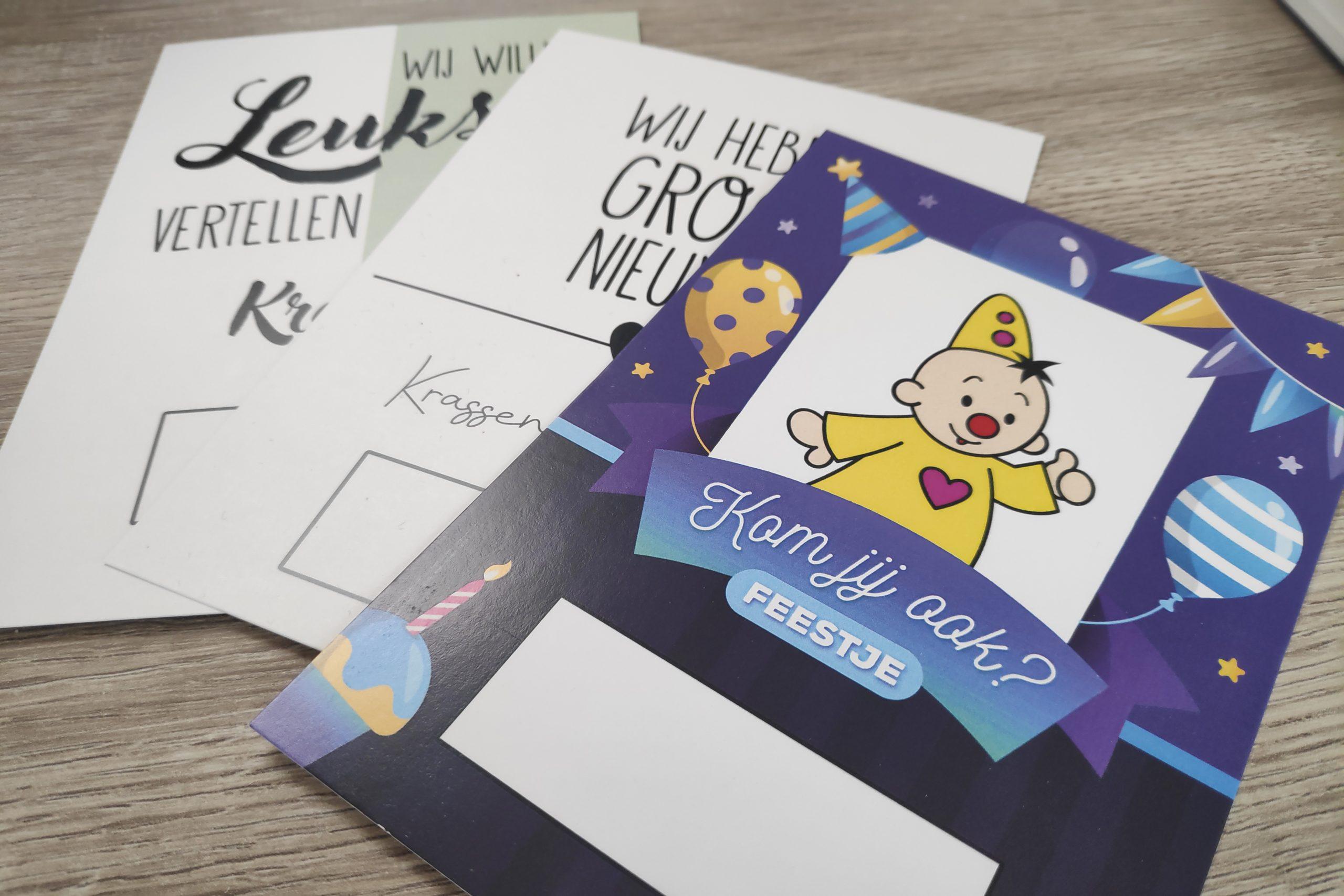 Krascards.nl - Iets (unieks) vertellen? Dat doe je met een kraskaart vanaf €0.99
