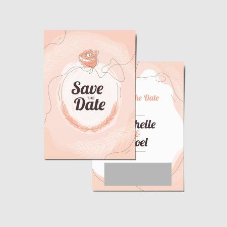 Krascards.nl - Iets (unieks) vertellen? Dat doe je met een Persoonlijke Save The Date Rose kraskaart.